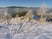 Winter mountainside (2) — Stock Photo