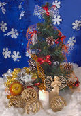 Christmas composition (3) — Стоковое фото
