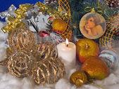 Christmas composition (5) — Стоковое фото