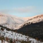 Daybreak mountain landscape — Stock Photo