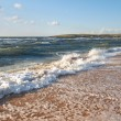 Sea surf foam — Stockfoto