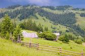 Aldea de la montaña — Foto de Stock