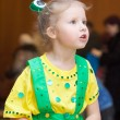Girl in carnival costume — Stock Photo