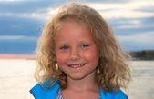 Small girl portrait — Stock Photo