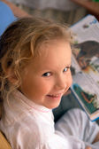 Small girl portret — Stockfoto