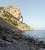 Rock and sea — Stock Photo