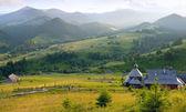 Mountains village — Stock Photo
