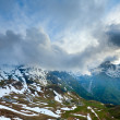 Evening cloudy Alps summer view — Stock Photo #8300836
