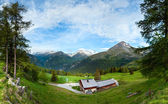 Alps summer country panorama (Austria). — Stock Photo