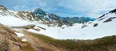 Alps summer panorama (Austria). — Stock Photo