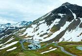 Vista de verano alpes — Foto de Stock