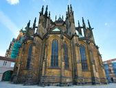 St. Vitus Cathedral , Prague, Czech Republic — Stock Photo
