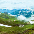 Alps summer panorama — Stock Photo
