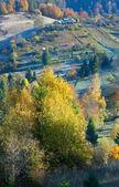 Autumn mountain Nimchich pass — Stock Photo