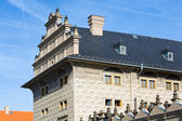 Schwarzenberg Palace fragment, Prague, Czech Republic — Stock Photo