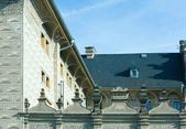 Schwarzenberg Palace fragment, Prague, Czech Republic — Stock Photo