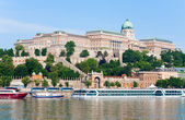 Budapest morning view — Stock Photo