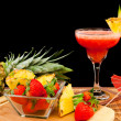 Tropical fruit cocktail — Stock Photo #10106216