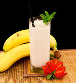 Banana Shake — Stock Photo