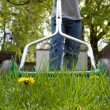 Mowing the lawn — Stock Photo #10513606