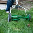 Mowing the lawn — Stock Photo #10513696