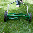 Mowing the lawn — Stock Photo #10513740