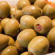 Stock Photo: Macro olives