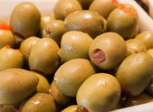 Macro olives — Stock Photo