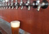 Beer taps — Stock Photo
