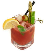 Isolated Bloody Mary — Stock Photo