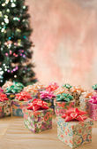 Small Gifts christmas — Stock Photo