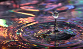Water droplet — Stock Photo