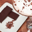 Chocolate martini Garnish - Stock Photo