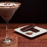 Постер, плакат: Chocolate martini Garnish