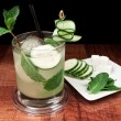 Cucumber mojito - Stock Photo