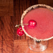 Royalty-Free Stock Photo: Sour cherry martini