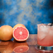 Salty Dog Cocktail on the rocks — Stock Photo