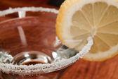 Sugar rim glass — Stock Photo