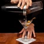 Постер, плакат: Pouring a Martini