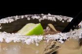 Salt Rim Margarita — Stock Photo
