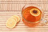 Anís estrella en té caliente — Foto de Stock