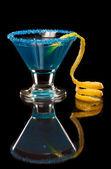 Electric Blue Lemonade — Stock Photo