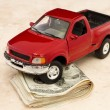 Driving expense — Stock Photo
