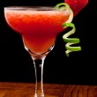 Fresh strawberry cocktail — Stock Photo #9838763