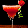 Fresh strawberry cocktail — Stock Photo #9852443