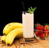 Bananen shake — Stockfoto
