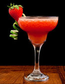 Fresh strawberry cocktail — Stock Photo