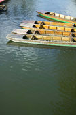 Punts on the Cam — Stock Photo