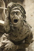 Grotesque gargoyle — Stock Photo