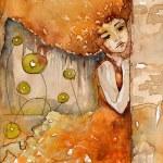 Watercolor paintings — Stock Photo
